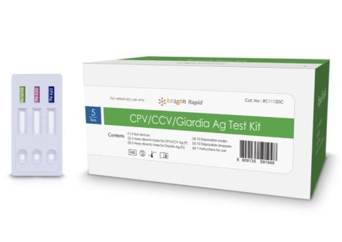 CPV/CCV/Giardia Ag 犬腸炎三合一